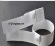 RFID Synthetic Wristband Tag